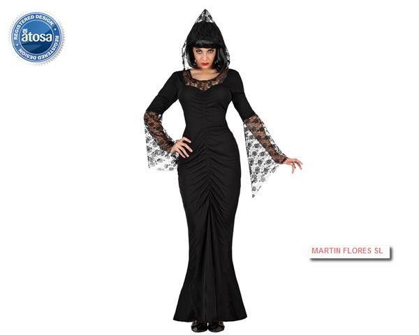 Disfraz viuda negra en #sevilla para #halloween en www.martinfloressl.es
