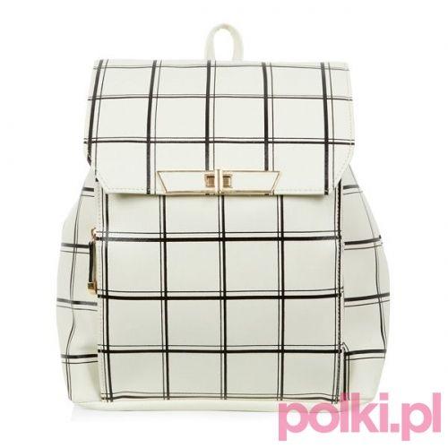 Biały plecak New Look #polkipl