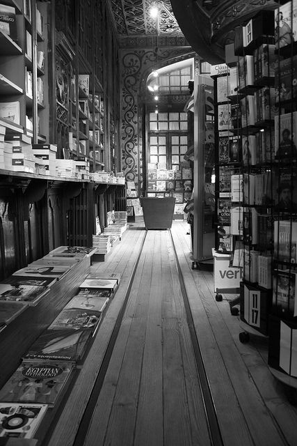 """Lello bookshop in Porto."" One of the oldest bookshops in Europe, photo by Angel Alberich-Bayarri"