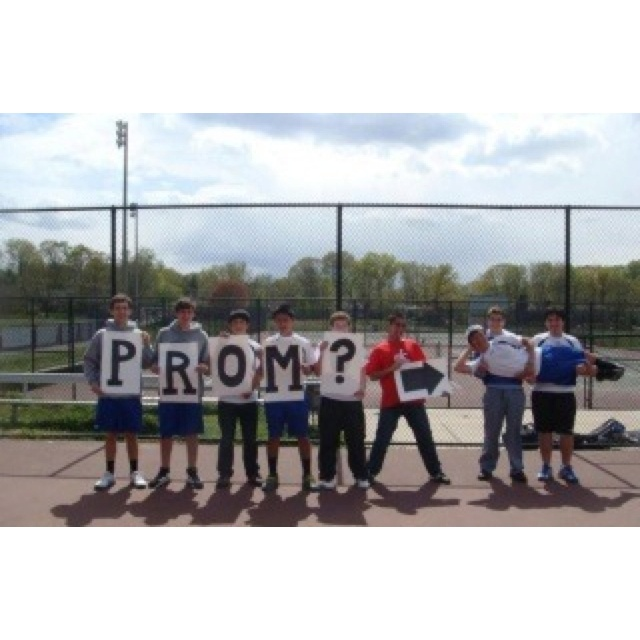 I believe this is the one of the cutest way to ask someone to prom. I feel like I've already pinned this...hahaa.