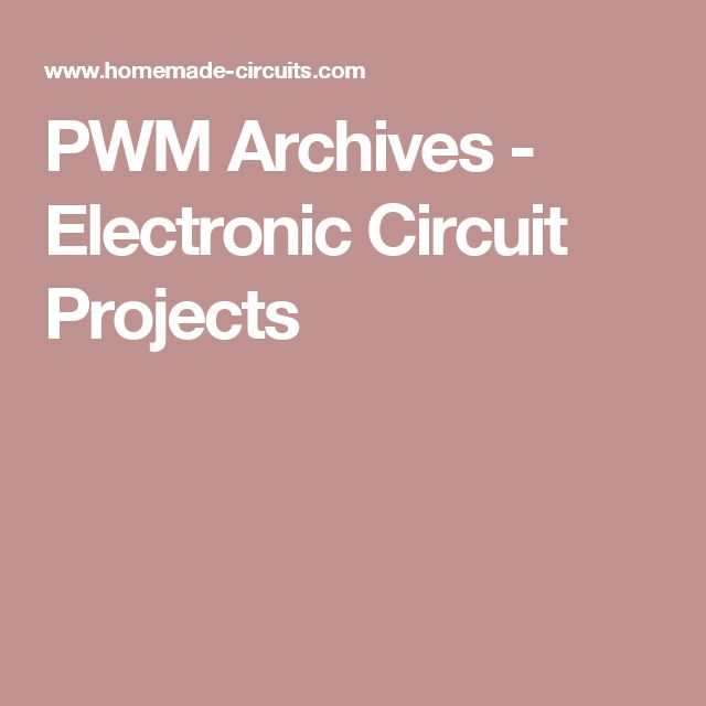 pulse width modulation basics pdf