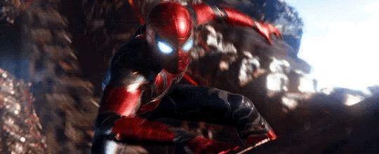 Avengers: Infinity War -- Spiderman [GIF]