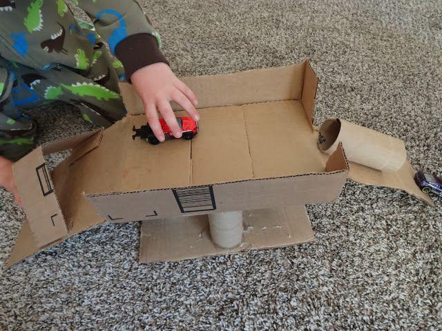 race car ramp for my boy