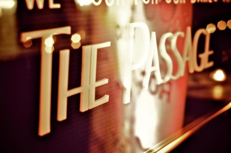 A fitting description...@ The Passage