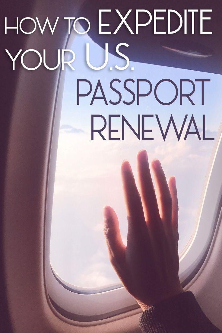 How to Expedite Your U.S. Passport Renewal