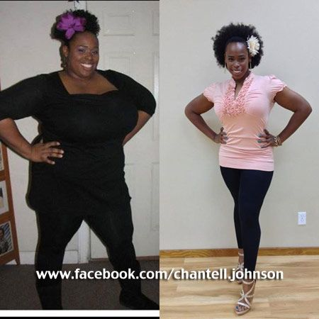 Extreme Weight Loss: Congrats to Chantell Johnson for Dropping 159 pounds | Black Weight Loss Success