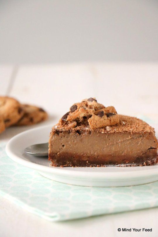chocolate chip cookie taart