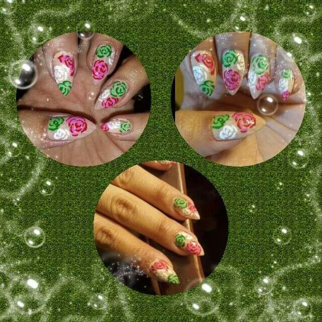 Mejores 59 imágenes de mexicanas nails en Pinterest | Arte de uñas ...
