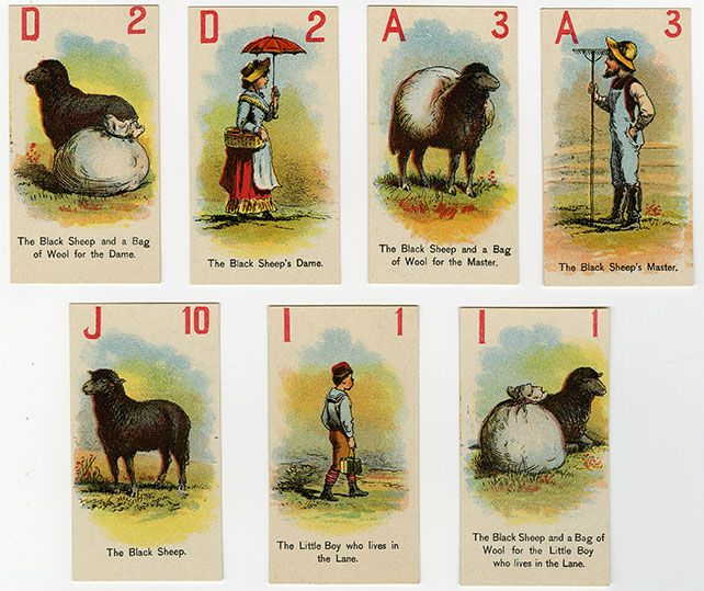 Baa Baa Black Sheep cards