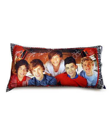 One Direction Plush Body Pillow #zulilyfinds