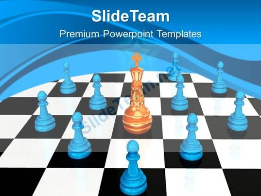 Game Strategy Powerpoint Templates Chess King Leadership Ppt Layouts #PowerPoint #Templates #Themes #Background