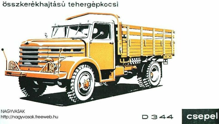 Csepel D-344