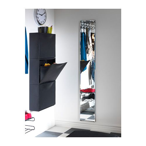 Safety Mirrors For Bathrooms: BONETT Bevel-edged Mirror IKEA Full-length Mirror. Can Be