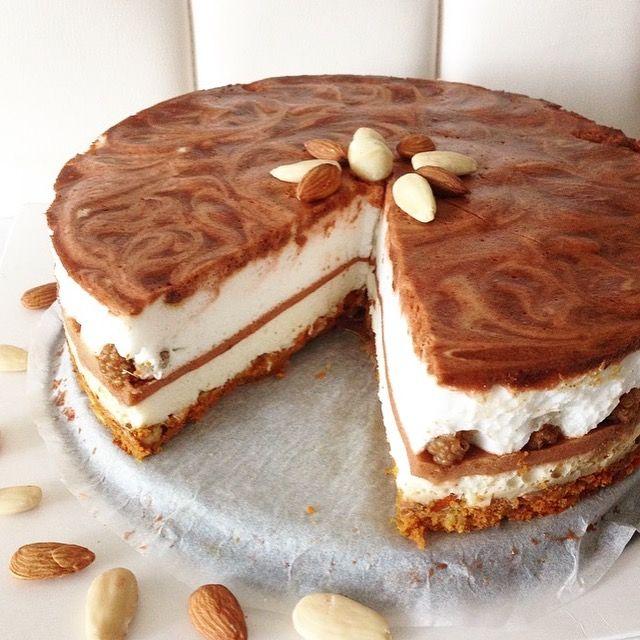 Heb jij zin in een heerlijke gezonde cheesecake met weinig kcal die ook nog…