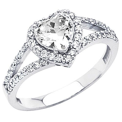 heart shaped wedding ring - Google Search