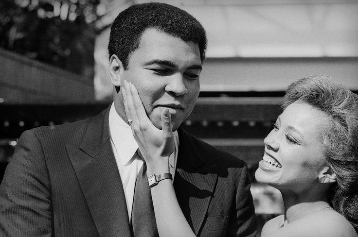 Muhammad Ali and Vanessa Williams
