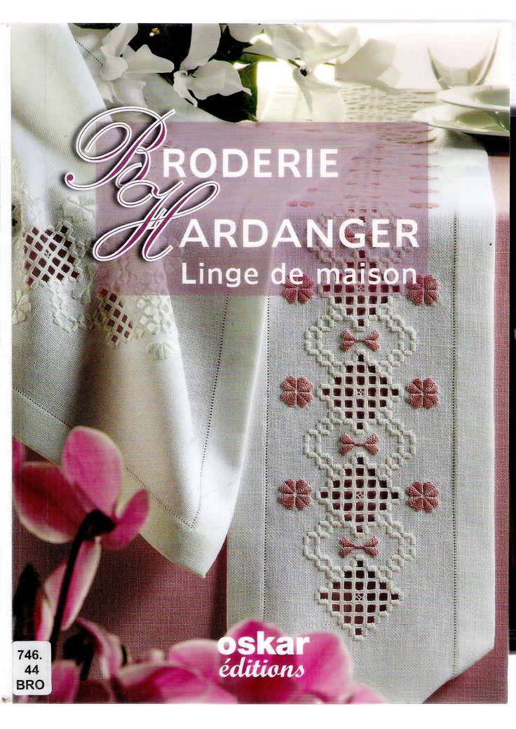 BORDIERE HARDANAGER Linge de maison http://www.pinterest.com/alizg/
