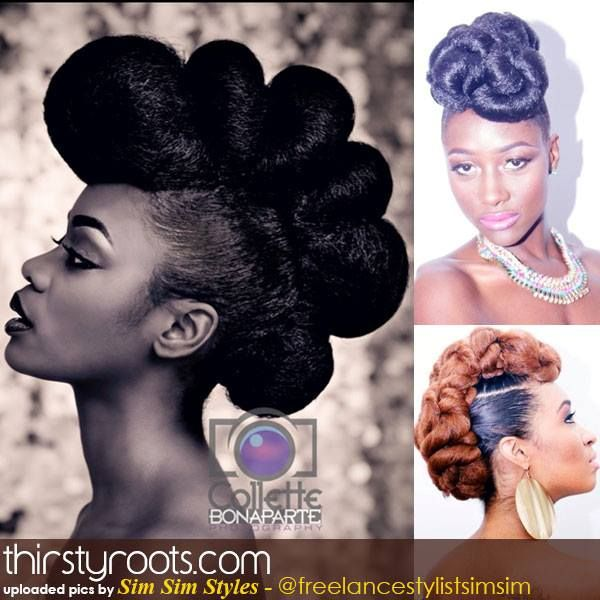 african american hair styles best 25 updo hairstyles ideas only on 1393 | 5334c8cefff9f1c6c17ecbe1393fbd84 natural wedding hairstyles natural hair updo