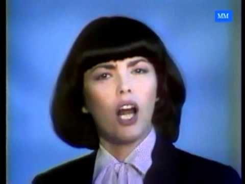 (1981) Mireille Mathieu Bravo tu as gagne Blue Mood - YouTube