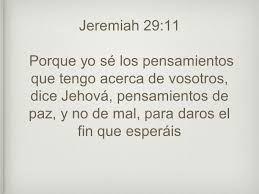 spanish bible verses jeremia 29 - Google Search