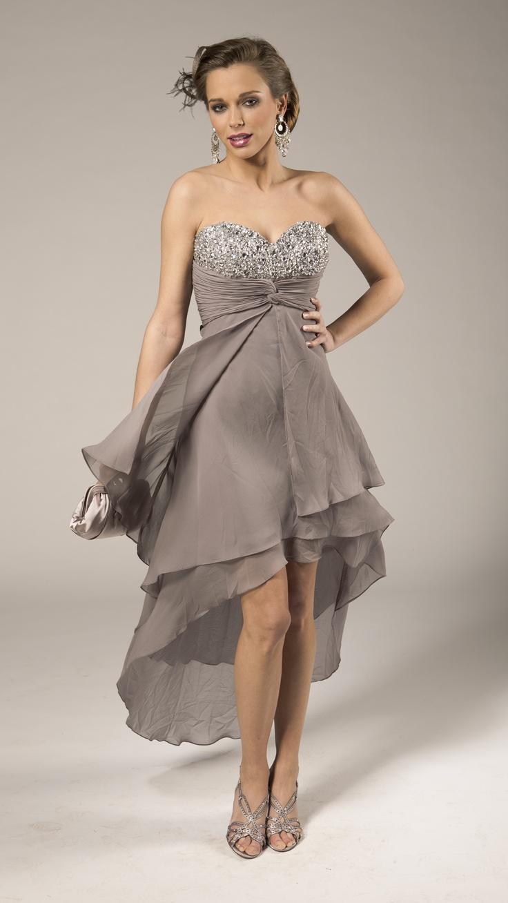 Evening Dress | Robe de soirée avec voile et strass | Avondkleed met sluier en strass | Anne-Sophie SMARTSHOPPING