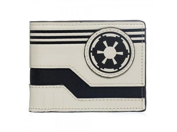 I want one of these. STAR WARS Inspired Wallets with Rebel and ImperialLogos - News - GeekTyrant