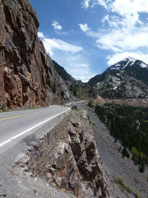 """Million dollar highway . Colorado (one of the most beautiful drives you can take) (""""1,000 Places to See Before You Die/ A Traveler's Life List"""" by Patricia Schultz)"""