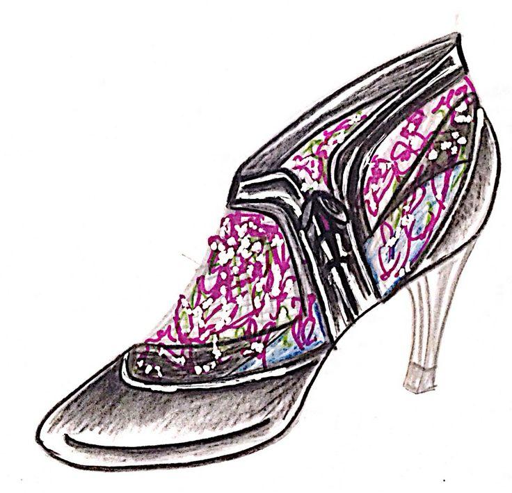 Zapato boceto 3