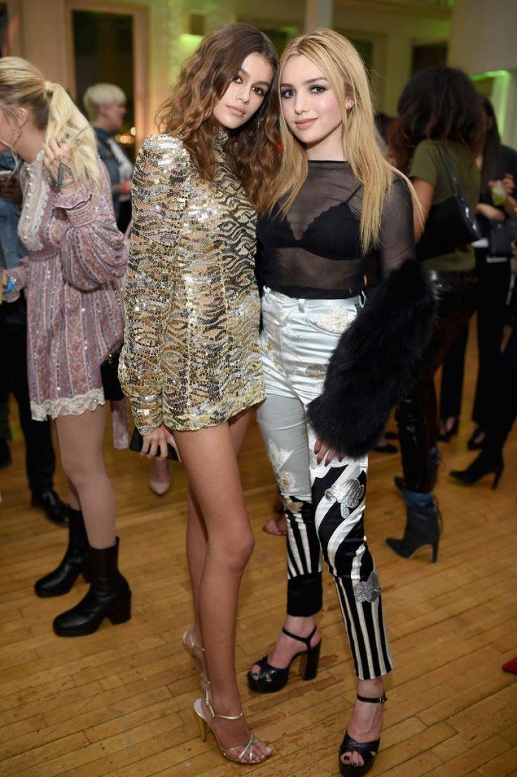 MARC JACOBS BEAUTY PEYTON LIST | PEYTON ROI LIST at Marc Jacobs Beauty Celebrates Kaia Gerber 02/15 ...