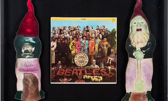 20-inch gnome appeared on Sgt Pepper album cover to be auctioned