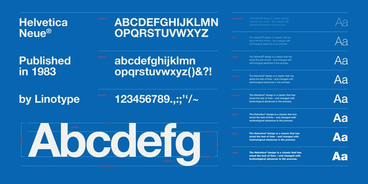 Neue helvetica webfont desktop font myfonts in 2020