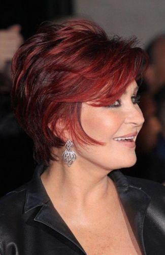 Sharon Osbourne - Mature Hairstyle