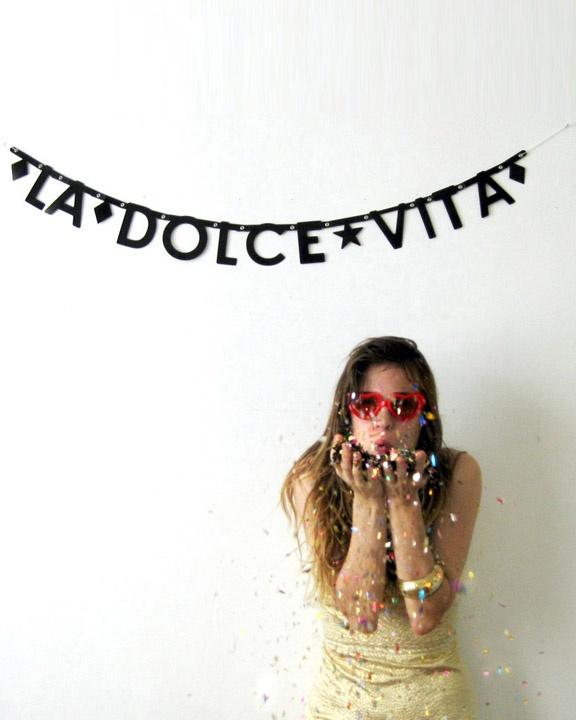 La Dolce Vita via http://www.banterbanner.com