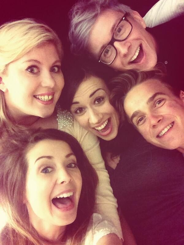 Zoella ,Joe Sugg,MirandaSings ,Tyler Oakley,Sprinkle Of Glitter