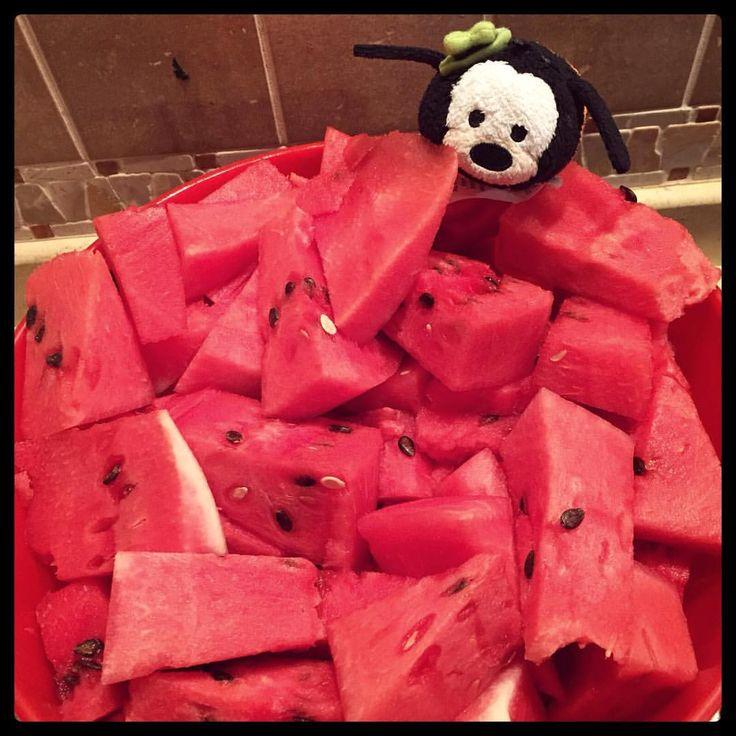 il mio eroe pippo - goofy goof - pippo de pippis - tsum tsum - anguria - watermelon