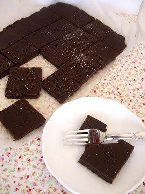 Brownies de feijão preto