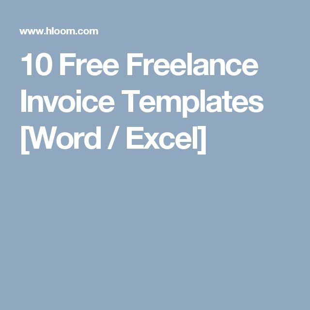 The 25+ best Freelance invoice template ideas on Pinterest - freelance invoice templates