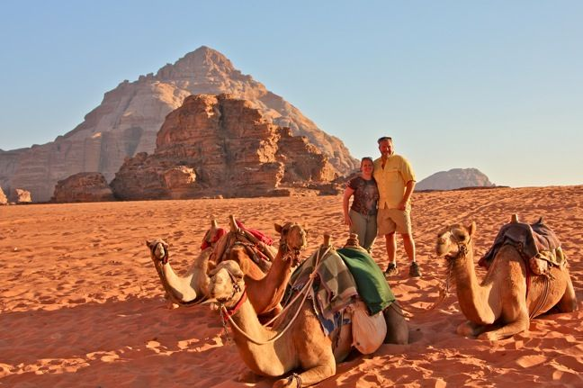 Captain's Desert Camp Jeep Tour in Wadi Rum, Jordan