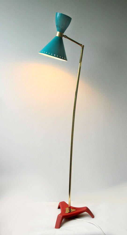 Fresh Diabolo Schirm Stehlampe Stilnovo ra