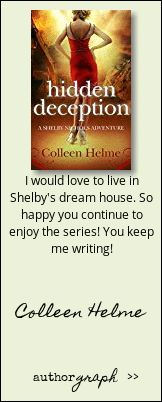 """Authorgraph from Colleen Helme for """"Hidden Deception"""""""