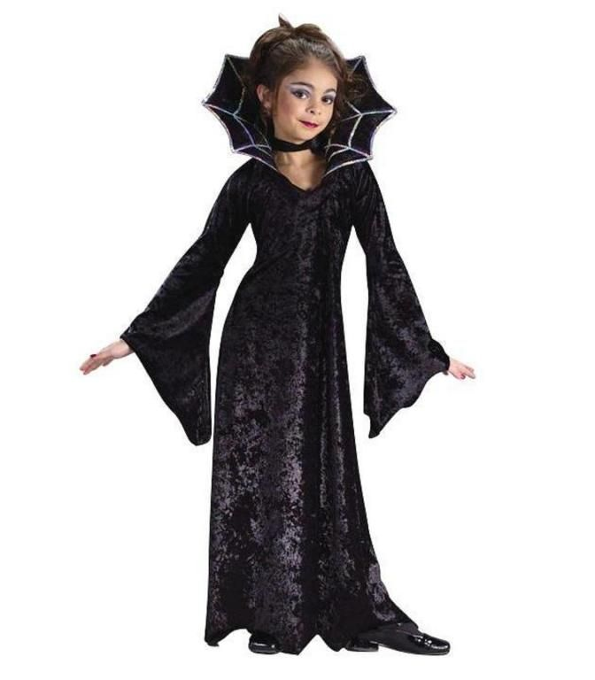 this spiderella costume is a great girls halloween costume to add to a vampire group or to wear on its own get this spiderella costume for your child for - Pictures Of Halloween Costumes For Toddlers