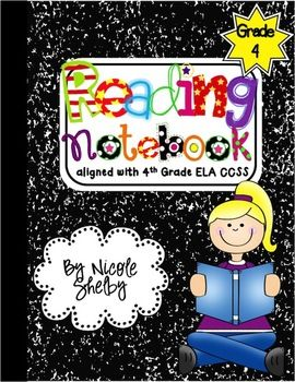 4th Grade Interactive Reading Notebook activities aligned with Common Core