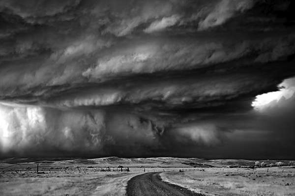 Photos of Mitch Dobrowner- storm clouds