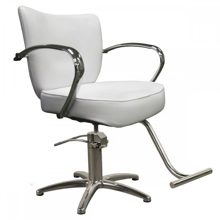 Vantage Styling Chair in Alpine White