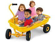 #LakeshoreDreamClassroom Easy-Ride Jumbo Wagon