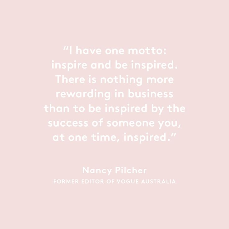 Great words from great women.  This Mother's Day we talk to inspiring women about inspiring women.