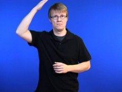 Mössa - Teckenspråk