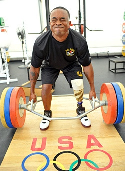 Below-the-knee amputee Fields runs for berth in 2012 Paralympics 090721 by familymwr, via Flickr