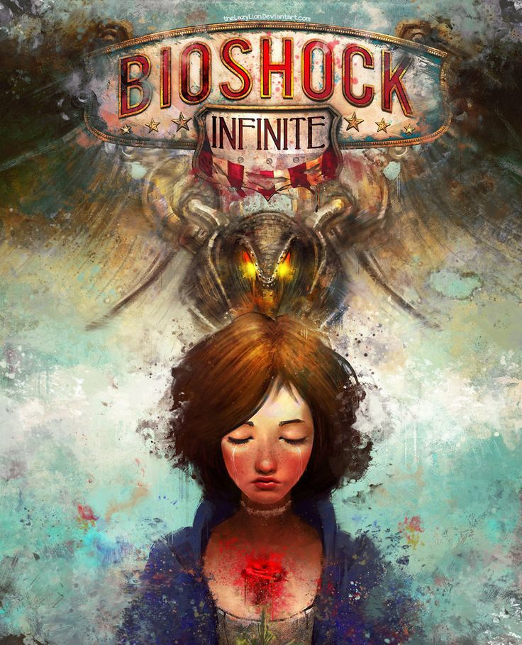 Bioshock Infinite Alternate Cover by theLazyLion.deviantart.com