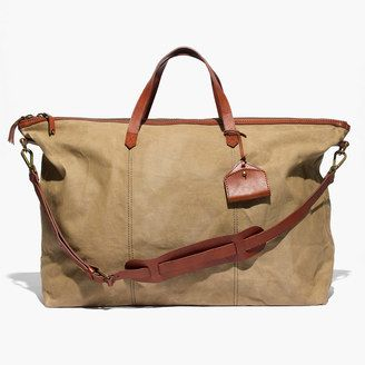 Shop Now - >  https://api.shopstyle.com/action/apiVisitRetailer?id=507660167&pid=uid6996-25233114-59 The Transport Weekender in Canvas  ...